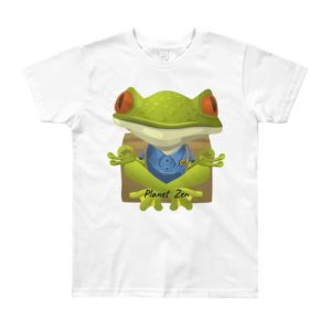 T-Shirt Enfant 8/12 Ans Meditating Frog
