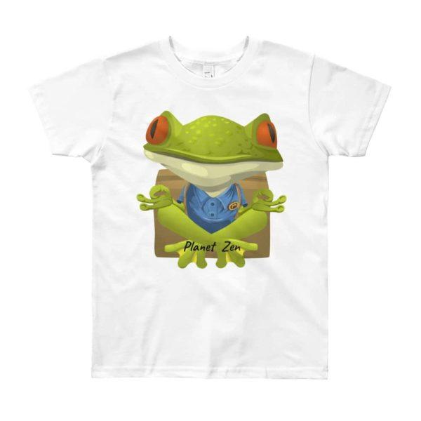 T-Shirt Enfant 8/12 Ans Meditating Frog